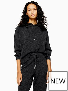 topshop-topshop-100-cashmere-hoodie-charcoal