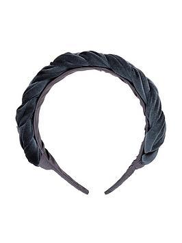 accessorize-velvet-oversizednbspplaitednbspalice-band-blue