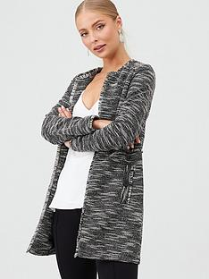 wallis-longline-salt-and-pepper-jacket-monochrome
