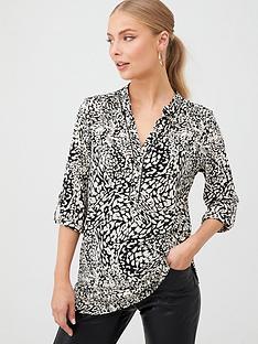 wallis-mixed-animal-ity-shirt-monochrome