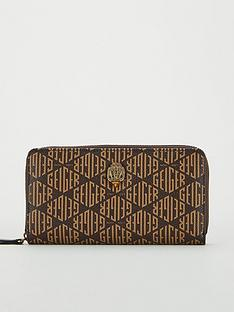 kurt-geiger-london-monogram-zip-purse