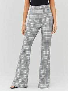 michelle-keegan-high-waist-tailored-trousers-check