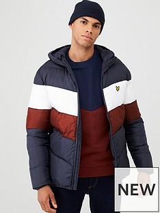 lyle-scott-colour-block-padded-jacket