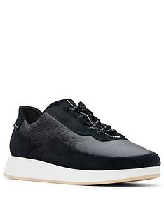 clarks-originals-kiowa-pace-trainers-black