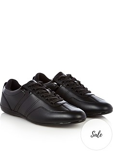 emporio-armani-mens-leather-trainers-black