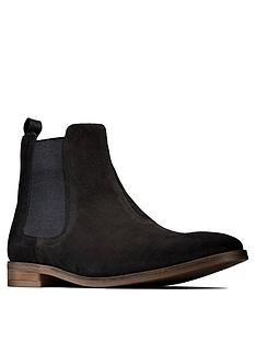 clarks-stanford-top-boots-black