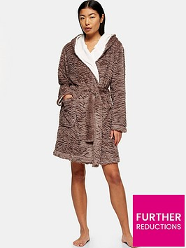 topshop-tiger-textured-short-robe-nude