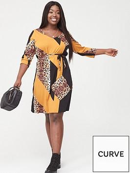 junarose-koikeenan-mixed-print-dress-multi