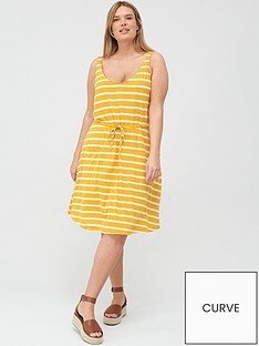 junarose-adella-striped-sun-dress-yellow