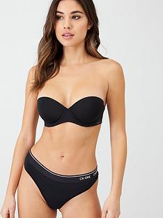 calvin-klein-plunge-push-up-bra-black