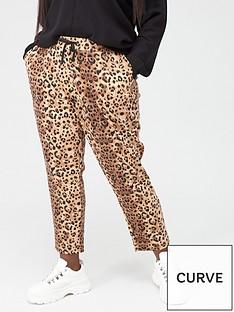 junarose-friia-casual-trouser-leopard