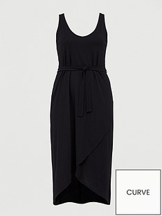 junarose-alvia-sleeveless-wrapnbspmidi-dress-black