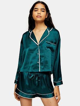 topshop-pyjama-set-green