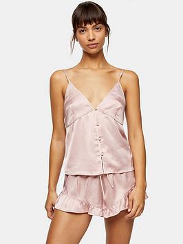 topshop-satin-pyjama-set-pink