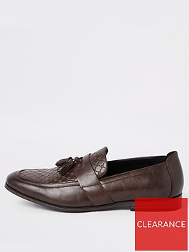 river-island-turin-mono-emboss-loafer-wide-fit