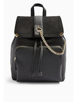 topshop-brandy-backpack-black