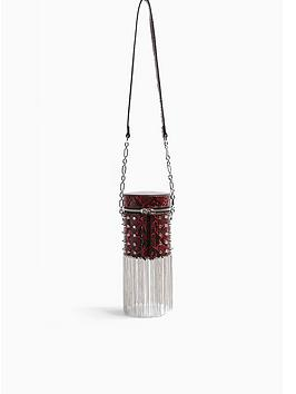 topshop-perrie-barrel-bag-red