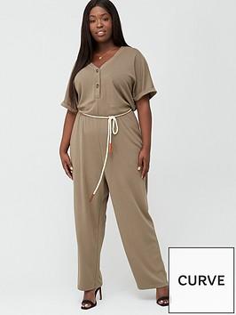 junarose-adora-cord-belt-jumpsuit