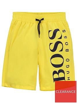 boss-boys-classic-logo-swimshort-yellow