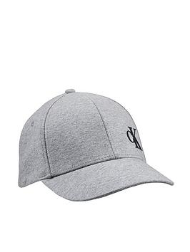 calvin-klein-jeans-childrens-monogram-baseball-cap-grey