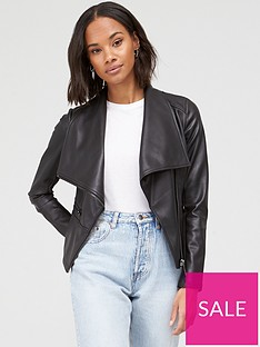 v-by-very-faux-leather-waterfall-jacket-black