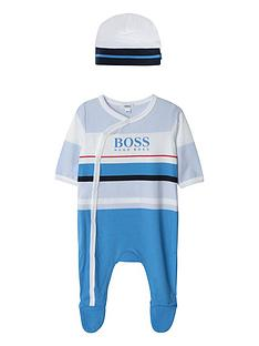 boss-baby-boys-stripe-all-in-one-amp-hat-gift-set-blue