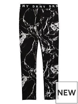 dkny-girls-marble-print-logo-waistband-leggings-black
