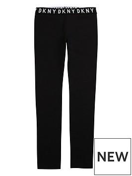 dkny-girls-logo-waistband-leggings-black