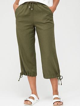 v-by-very-linen-mix-crop-trouser-khaki