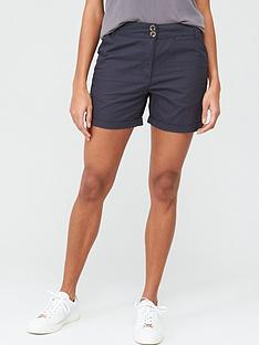 v-by-very-poplin-short-navy