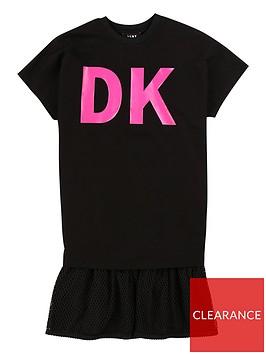 dkny-girls-2-in-1-logo-drop-hem-dress-black