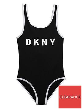 dkny-girls-logo-swimsuit-black