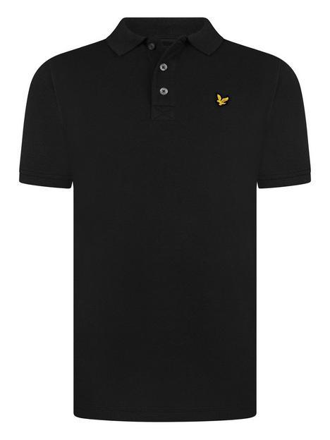 lyle-scott-boys-classic-short-sleeve-polo-shirt-black