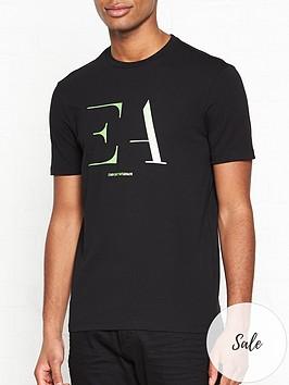 emporio-armani-logo-print-t-shirt-black