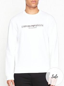 emporio-armani-chest-logo-sweatshirt-white