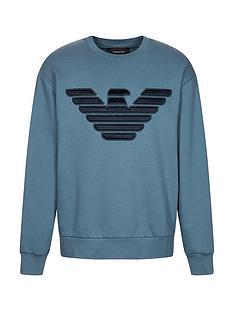 emporio-armani-eagle-logo-sweatshirt-blue