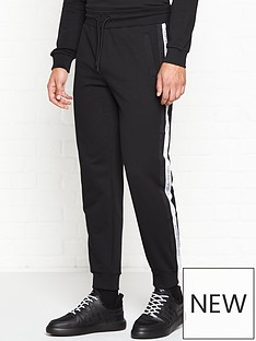 emporio-armani-logo-tape-trousers-black