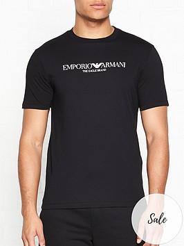 emporio-armani-chest-logo-t-shirt-black