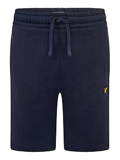 lyle-scott-boys-classic-lounge-shorts-navy