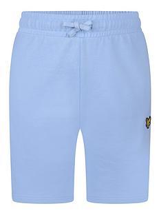 lyle-scott-boys-classic-jog-shorts-chambray-blue