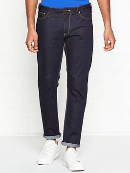 emporio-armani-tobacco-stitches-slim-fit-jeans-indigo