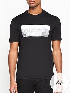 emporio-armani-3d-city-print-t-shirt-black