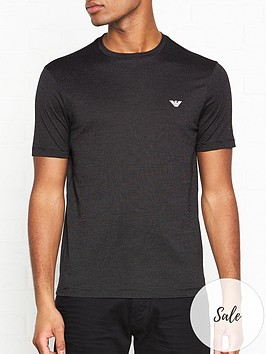 emporio-armani-textured-t-shirt-black