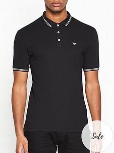emporio-armani-eagle-logo-polo-shirt-black