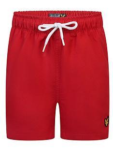 lyle-scott-boys-classic-swim-shorts-red