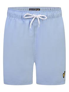 lyle-scott-boys-classic-swim-shorts-chambray-blue