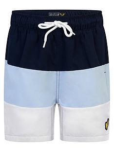 lyle-scott-boys-wide-stripe-swim-shorts-navy