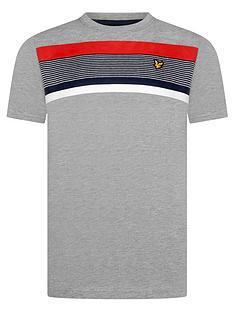 lyle-scott-boys-short-sleeve-centre-stripe-t-shirt