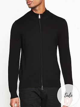 emporio-armani-basic-zip-jumper-black
