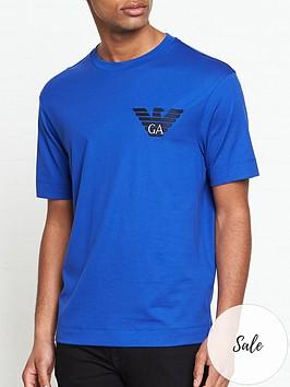 emporio-armani-ea-eagle-t-shirt-blue